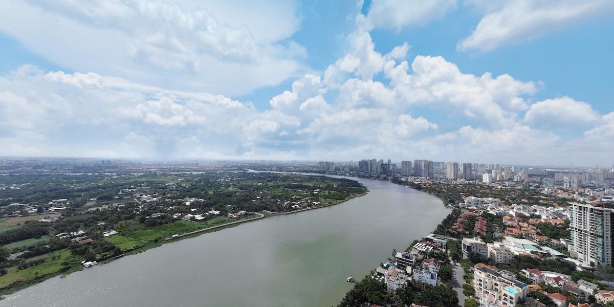 Không gian sống xanh tại Thảo Điền Green
